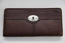 + FOSSIL Geldbörse Geldbeutel Brieftasche Portemonnaie Kellnerbörse Marlow Zip +