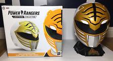 Hasbro Power Rangers Lightning Collection Mighty Morphin White Ranger Helmet.
