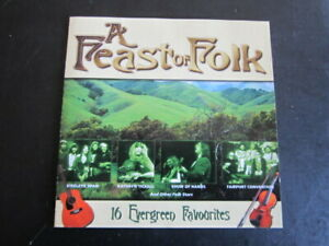 Various Artists - A Feast of Folk: 2001 Prism CD Album(British & Irish Folk)
