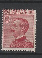 FRANCOBOLLI - 1917 REGNO MICHETTI C.60 CARMINIO MNH Z/7185