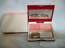 AVON NATURAL RADIANCE POWDER BLUSH DUO MOODY MELON WINDBLOWN ROSE NOS