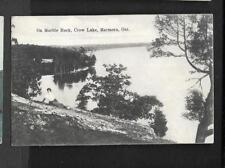 pk34809:Postcard-On Marble Rock,Crow Lake,Marmora,Ontario