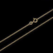 Erbskette 333er Gold Kette 3731, 45 cm lang, 3,22 Gramm 1,5 mm Breit