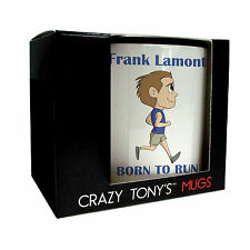 Mens Running Gifts, Personalised Running Mug, Crazy Tony's, Mans Running Present