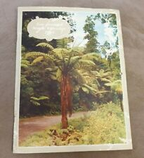VINTAGE 1963 NEW ZEALAND CALENDAR FULL COLOUR PHOTOGRAPHS PHOTO