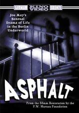 Asphalt [New DVD] Black & White, Full Frame, Silent Movie