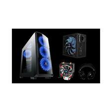 Pack gamer Storm 800 Cyclone: Caja, Fuente, Refrigerador y auriculares de regalo