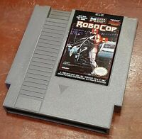 Nintendo NES RoboCop cart, cleaned & tested, authentic