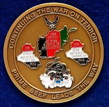 USAF 174th Civil Engineer SQ Prime Beef Iraq Afghanistan Challenge Coin P-5