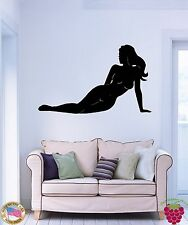 Wall Stickers Vinyl Decal Sexy Naked Woman Silhouette Girl z1134