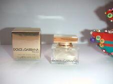 JOLIE miniature  THE ONE  de  DOLCE & GABBANA  pleine + boite eau d PARFUM NEUVE