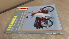 Honda C50, C70 and C90 Owners Workshop Manual 1967-1988, Darlingt