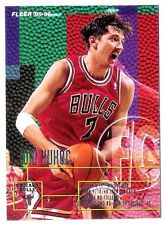 Tony Kukoc 1995-96 Fleer Chicago Bulls Insert Basketball Card