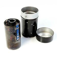 LEICA FILCA 35mm Film Cassette Leitz Germany + Original Metal Pot. (ref1)