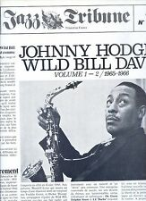JOHNNY HODGES wild bill davis VOLUME 1 -2 1965 1966 france EX 2LP