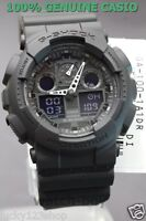 GA-100-1A1 Black G-shock Casio Watches 200m Resin Band Analog Digital New Light