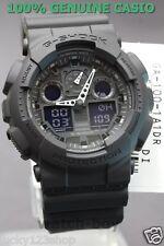 GA-100-1A1 Black G-shock Casio Watches 200m Resin Band Analog Digital New Light