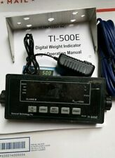 USED TI-500E Transcell  Weigh  Scale Indicator ( NTEP)+SurgeProtector SURGECUBE