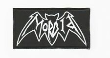 Morbid embroidered patch sew on logo death Black Metal astral threads