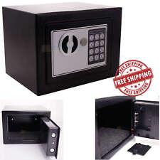 Box Safe Digital Steel Electronic Lock Home Security Office Gun Money Fireproof