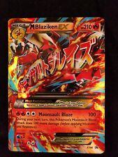 Pokemon M Blaziken-EX - XY86 - Ultra Rare Promo NM Promo REGULAR SIZE