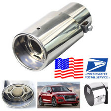 Anti-corrosive Stainless Steel Silver Look Car Exhaust Tail Pipe Less than 48 mm