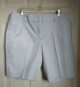ANN TAYLOR THE 10 INCH MID RISE CHINO SHORTS
