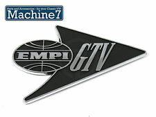 Classic VW Beetle Badge, Die Cast, EMPI GTV (Empi)