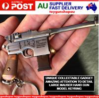 Mauser Keyring Gun Replica C96 Mauser Pistol Large Metal Gun Keyring Pistol Gun
