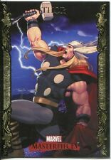 Marvel Masterpieces 2007 UD Gold Border Parallel Base Card #86 Thor