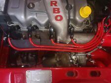 RED 8MM PERFORMANCE IGNITION LEADS ESCORT MK5 FIESTA MK3 RS TURBO XR2i I.6i EFi