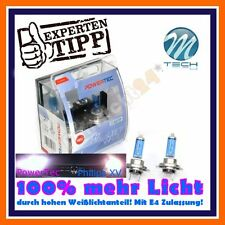 2x POWERTEC h7 SUPER WHITE +100% 6000k ANABBAGLIANTI AUDI a3 8l1 8p1 a4 b6 b7 b8