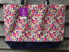 Liberty of London Uniqlo Floral Betsy fabric Tote Beach Bag Brand New With Tags