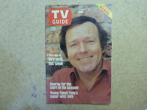 1978 SOUTH AUSTRALIAN TV GUIDE- MIKE WALSH, ELVIS PIN-UP