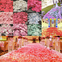 Lot of 5000pcs Various Colors Silk Flower Rose Petals Wedding Party Decorations