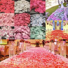 Lot of 5000pcs Various Colors Silk Flower Rose Petals Wedding Party Decorations