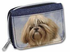 Shih Tzu Dog Girls/Ladies Denim Purse Wallet Christmas Gift Idea, AD-SZ9JW