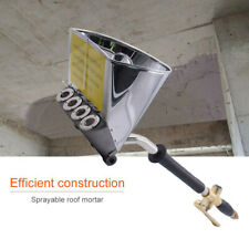4 Jet Cement Mortar Spray Hopper Air Stucco Spray Gun Wall Paint Concrete Device