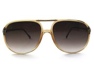 occhiali da sole Luxottica vintage uomo mod.3519 colore marrone