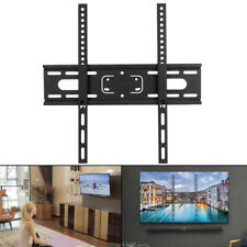 "Fixed Slim TV Wall Mount Bracket For17""-55"" Inch Flat Screen LED LCD PLASMA"