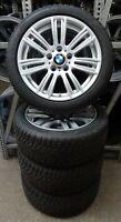 4 BMW Winterräder Styling 383 M 225/45 R17 M+S 1er F20 F21 2er F22 7845850 RDCi