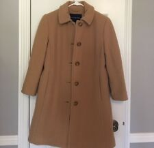 Lands' End Luxe Wool Insulated Car Coat 2P