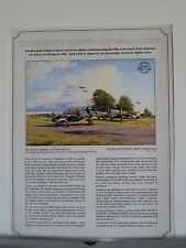 The Mighty Eighth Outward Bound P-47s 8th AF Robert Taylor Aviation Art Flyer