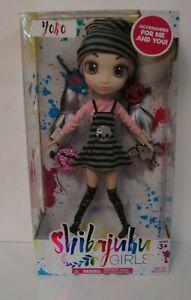 "Shibajuku Girls Series 2 YOKO 13""Doll - Hair accessories Life Like Eyes & Lashes"
