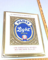 Pabst beer sign  Light tacker PBR wall bar pub vintage old brewery bar pub 1 ND1