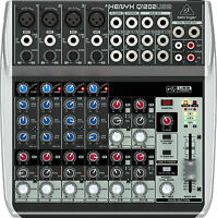 Behringer Q1202USB 12-Channel Mixer 1202USB 1202 Q-1202-USB OPEN BOX- FAST SHIP!
