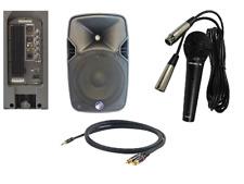 Cassa amplificata Technosound TA08A con microfono Proel DM800 e cavo pc
