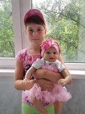 """22"""" Lovely Reborn Baby Dolls Newborn Toddler Adorable Girl Kids Birthday Gift"""