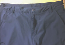 REI Youth Casual Pants Hiking Camping Aqua Blue Stretch Polyester Cargo XL(18)