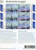 Netherlands 2018 MNH Bridges Europa Kwakelbrug Edam 6v M/S Architecture Stamps